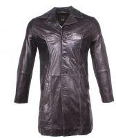 Leather Coat Lambskin Leather Ricano Safary brown
