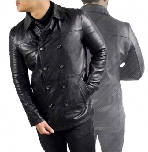 Leather Jacket Cowhide Nappa Leather Ricano LIAM black