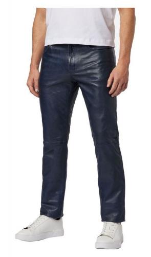 Lederhose Ricano 501 Trand Pant blau