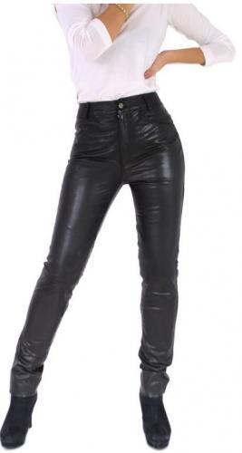 Damen-Lederhose Ricano 9810 II Lammnappaleder schwarz