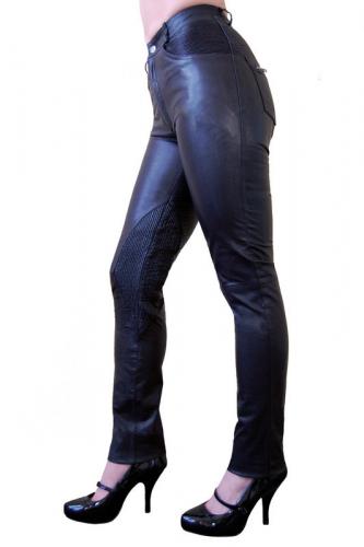 Lederhose Ricano 9810 schwarz
