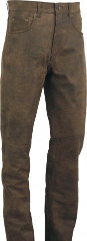 Lederhose Fuente deluxe Büffel Antik Leder Vintage-Braun