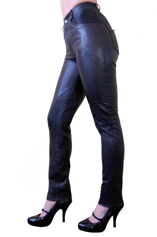 Damen-Lederhose-Ricano-9810-schwarz-Lammnappaleder