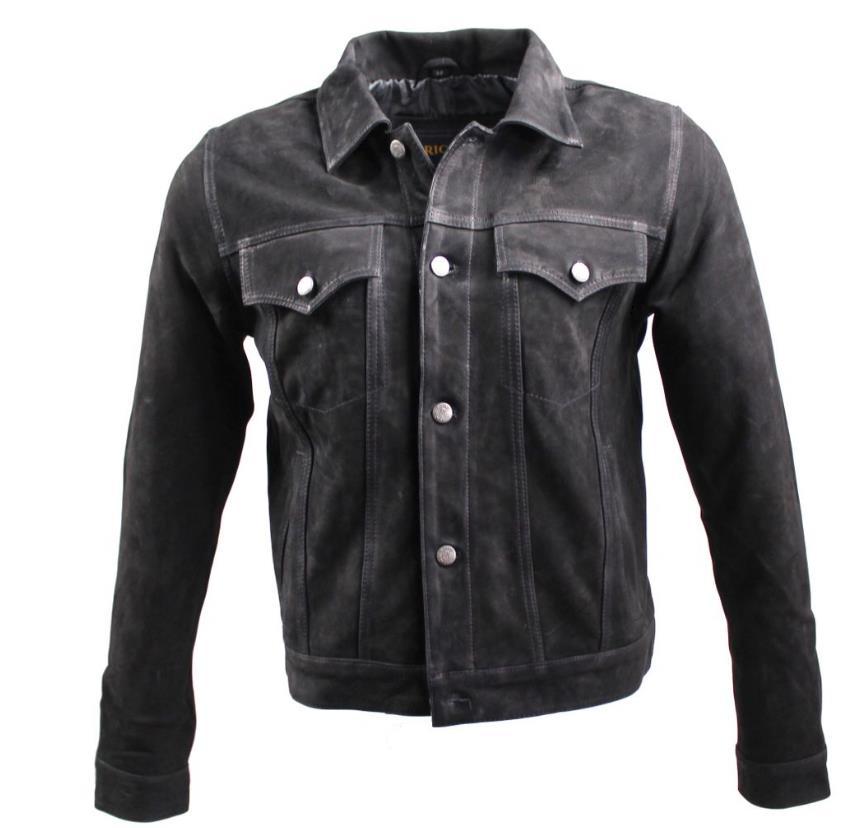 herrenlederjacke ricano jeans jacket rind nubukleder. Black Bedroom Furniture Sets. Home Design Ideas