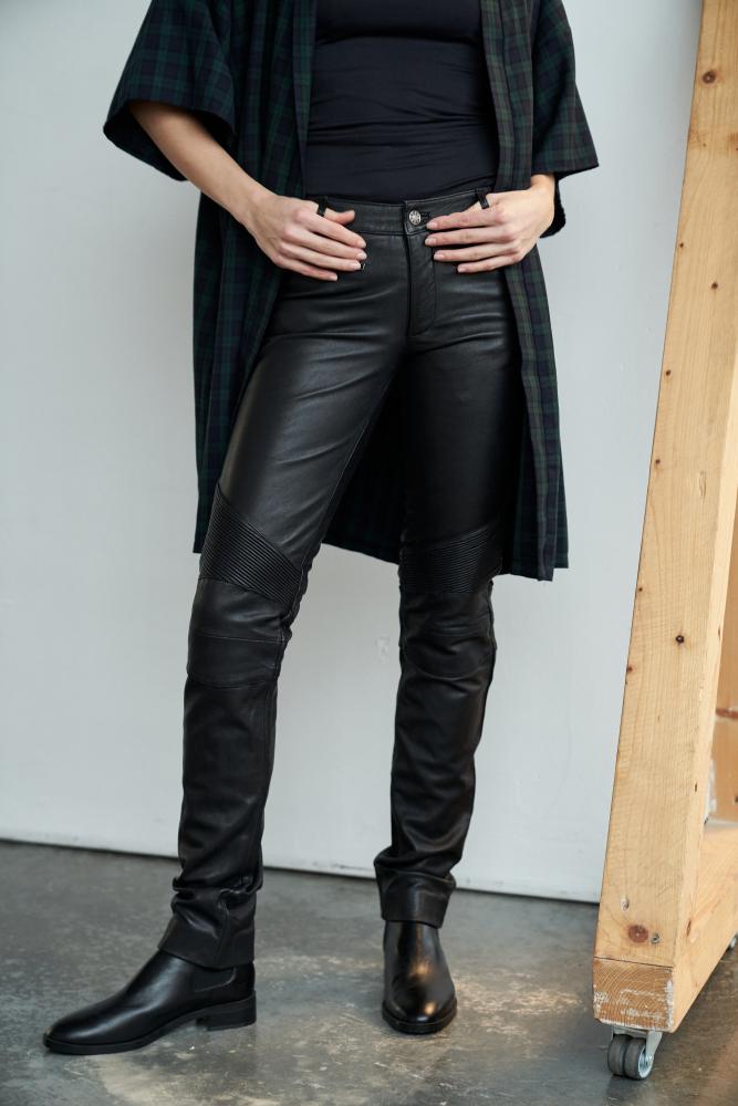 Lederhose Ricano Donna schwarz