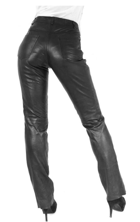 Leather Pants Ricano 9809 black