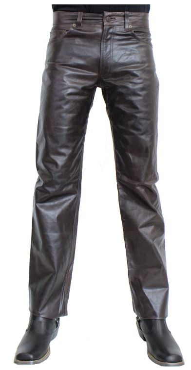 Lederhose Ricano 501 braun