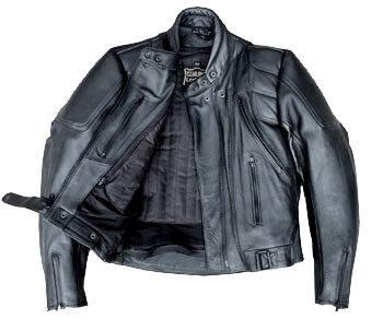 MotorcycleLeather JacketSkorpion Racing Cow Nappaleather black