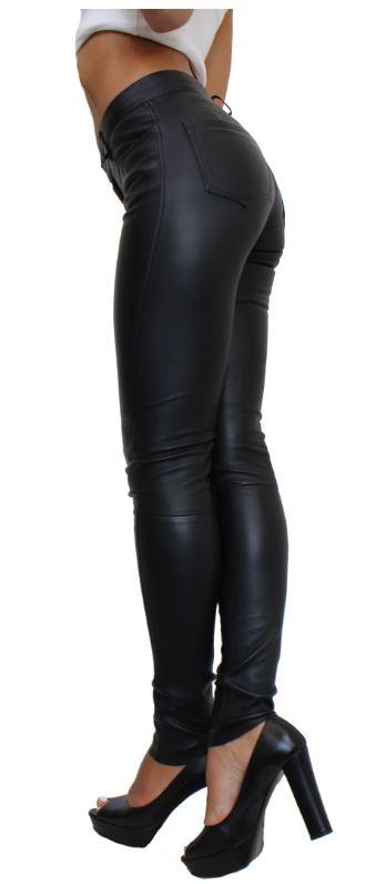 Lederleggings Ricano Pandor schwarz