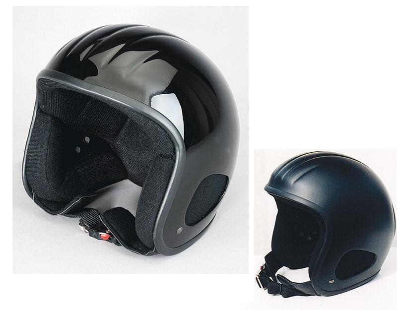 Motorradhelm Skorpion Titan Jethelm schwarz