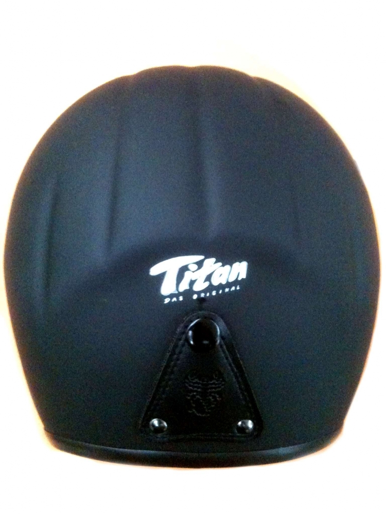 Motorradhelm Skorpion Titan Jethelm matt-schwarz