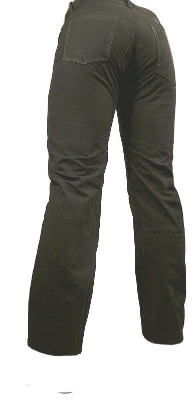 Lederhose Ricano 501 Nubuk schwarz