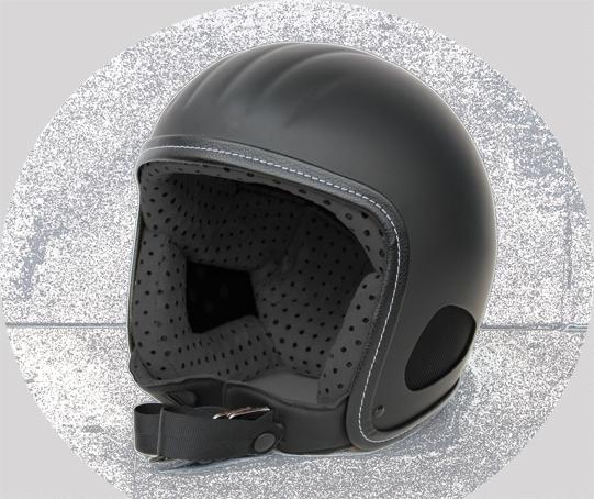 Jethelm Skorpion Titan Beretto schwarz-matt
