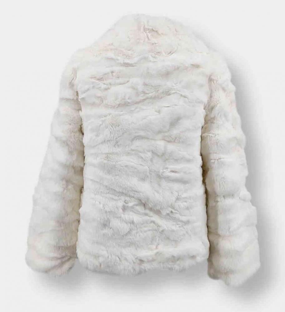 Pelzjacke Levinsky Furs Rex Kanin white