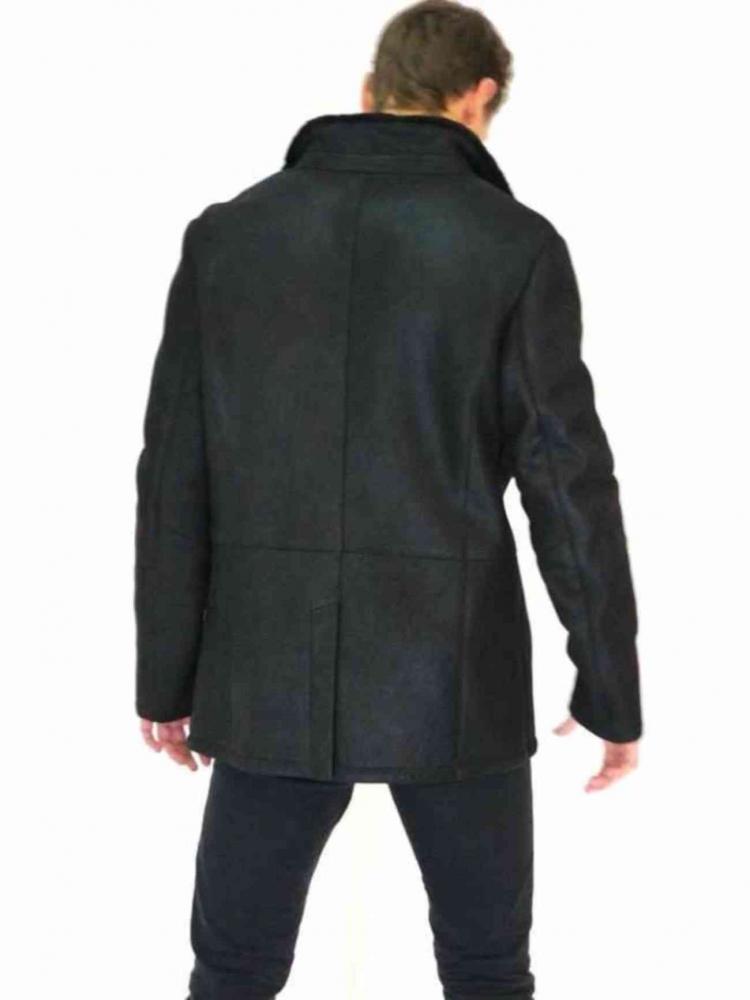 Ledermantel Levinsky Furs Cooper schwarz