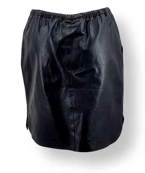 Lederrock Levinsky Skirt schwarz