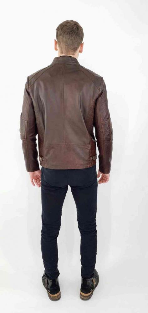 Lederjacke Levinsky Bulk Copper brown