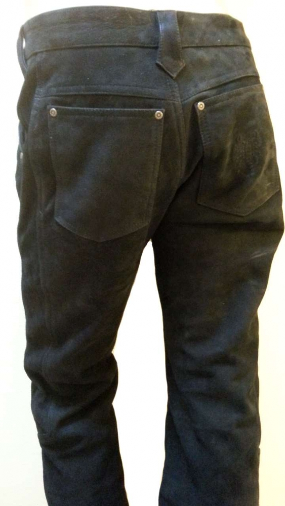 Lederhose Skorpion Carpenter schwarz