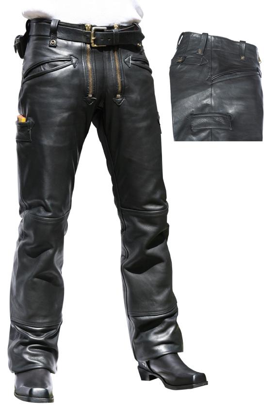 Lederhose Skorpion Craftsman schwarz