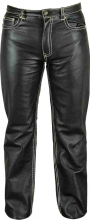 Leather Pants Fuente deluxe 501 Cowhide Nappa Leather black