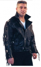 Lederjacke Skorpion Highway schwarz