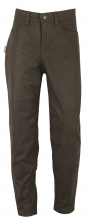 Leather Pants Fuente deluxe Buffalo Nubuck Leather darkbrown