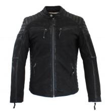 Leather JacketRicano Cooper Vintage-DesignLambskingrey