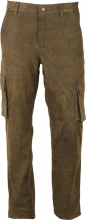 Leather Pants Fuente deluxe Cargo Antique Cowhide brown