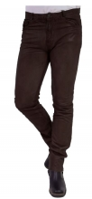 Leather Pants Ricano Trand Pant Goat Nappaleather darkbrown