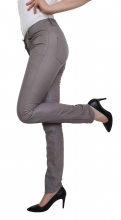 Leather Pants Ricano Dorin grey