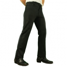 Leather Pants 501 Ricano Buffalo Nubuck Leather black