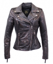 Leather Jacket Ricano Sierra Perfecto black