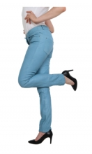 Leather Pants Ricano Dorin Lambskinleather blue