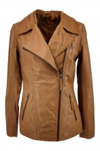 Leather Jacket Levinsky Womens Jacket Copper
