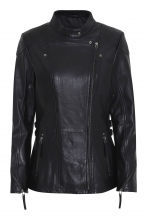 Leather Jacket Levinsky Frances Lambskin black