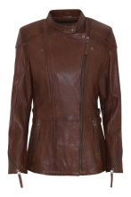 Leather Jacket Levinsky Frances Lambskin brown