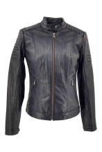 Leather Jacket Levinsky Lise black