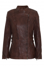 Leather Jacket Levinsky Floyd brown