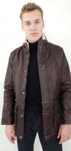 Leather Jacket Levinsky Vernon Lambskinleather