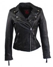 Leather Jacket Women Ricano Relly 2 black