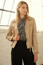 Leather Jacket Ricano Relly 2 beige