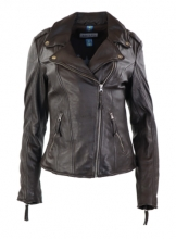 Leather Jacket Women Ricano Relly 2 brown