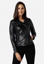 Womens Leather Jacket Ricano Sally black