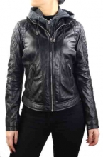 Womens Leather Jacket Ricano Samantha black