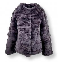Pelzjacke Levinsky Furs Rex Kanin Grey