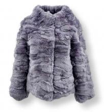 Pelzjacke Levinsky Furs Rex Kanin Lavender