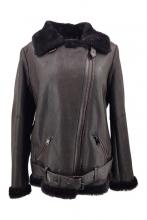 Leatherjacket Levinsky Furs Lambskin Brown