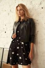 Leatherjacket Ricano Phoebe Lambskin black