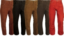 Leather Pants Fuente deluxe Buffalo Nubuk Real Leather