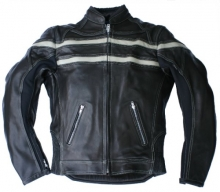 Motorcycle Leather Jacket Skorpion Roadstar Cow Nappa Leather black